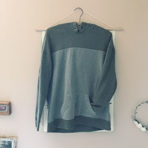 Olive Green Hollister Hoodie